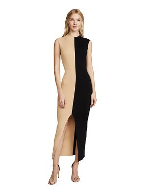 SOLACE London intarsia dress