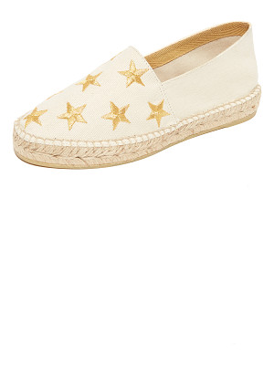 South Parade star embroidered espadrilles
