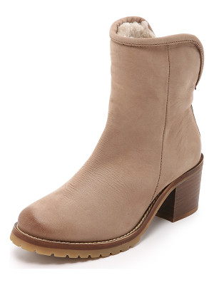 STEVEN Shearling Lined Booties
