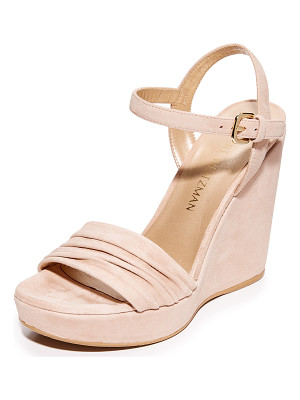 Stuart Weitzman sundraped wedge