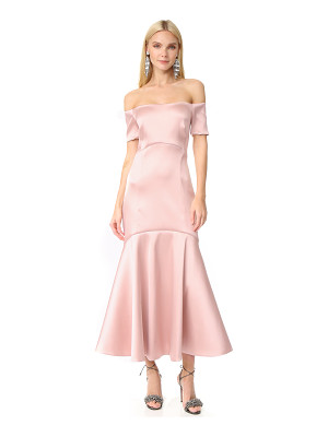 TEMPERLEY LONDON Midi Onyx Evening Dress