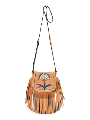 TORY BURCH Lilium Applique Mini Saddle Bag