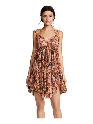 Zimmermann lovelorn frill mini dress