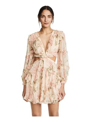 Zimmermann prima floating cutout dress