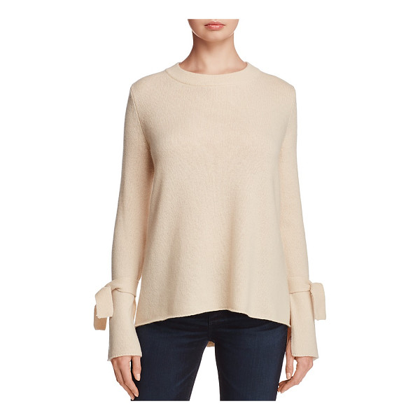 C BY BLOOMINGDALE'S C by Bloomingdale's Cashmere Boat Neck Tie-Sleeve Sweater - 100% Exclusive - C by Bloomingdale's Cashmere Boat Neck Tie-Sleeve Sweater -...
