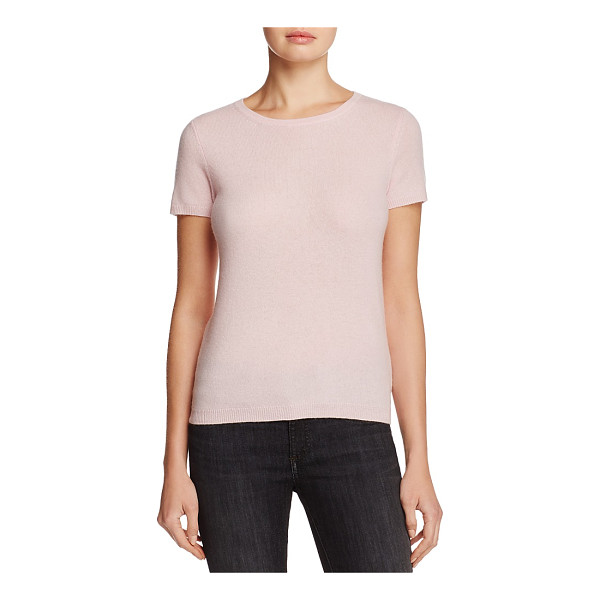 C BY BLOOMINGDALE'S C by Bloomingdale's Cashmere Short-Sleeve Sweater - 100% Exclusive - C by Bloomingdale's Cashmere Short-Sleeve Sweater - 100%...
