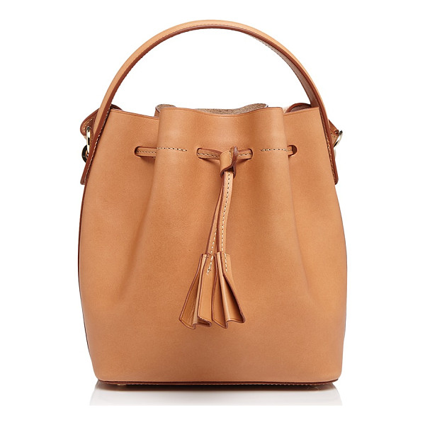 CELINE LEFEBURE Karin Mini Leather Bucket Bag - 100% Exclusive - Celine Lefebure Karin Mini Leather Bucket Bag - 100%...