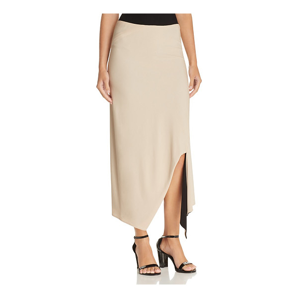 DKNY Reversible Asymmetric Maxi Skirt - Dkny Reversible Asymmetric Maxi Skirt-Women