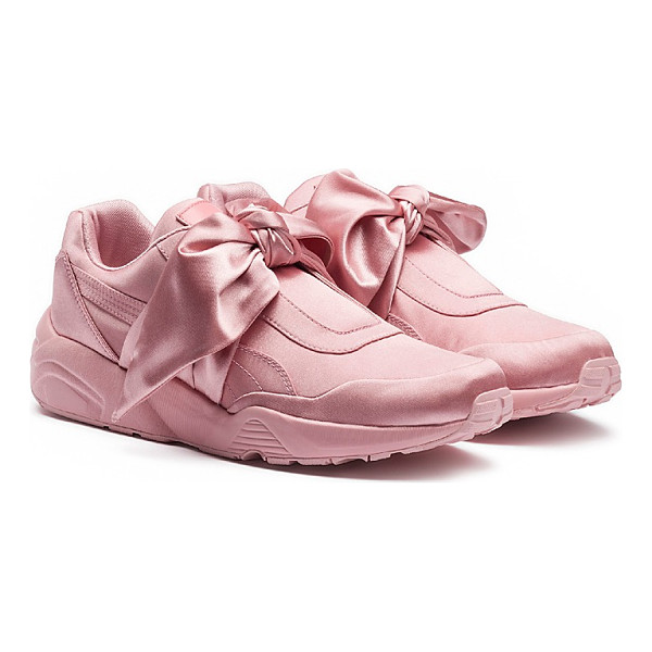 FENTY PUMA BY RIHANNA Fenty Puma x Rihanna Women's Satin Bow Sneakers - Fenty Puma x Rihanna Women's Satin Bow Sneakers-Shoes