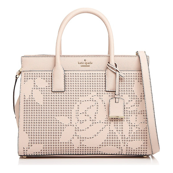 KATE SPADE NEW YORK kate spade new york Cameron Street Candace Perforated Leather Satchel - kate spade new york Cameron Street Candace Perforated...