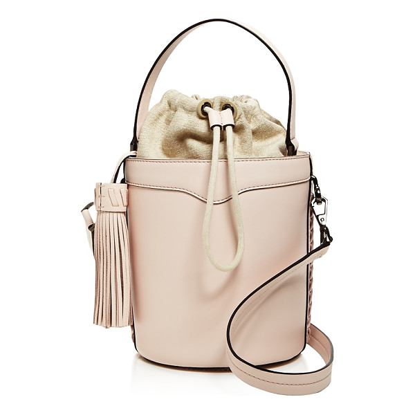 REBECCA MINKOFF Whipstitch Top Handle Leather Bucket Bag - 100% Exclusive - Rebecca Minkoff Whipstitch Top Handle Leather Bucket Bag -...