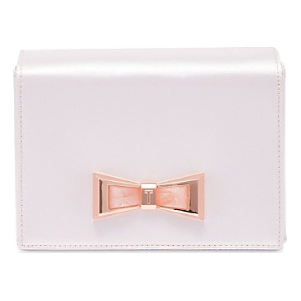 TED BAKER Maxine Geo Bow Evening Clutch - Ted Baker Maxine Geo Bow Evening Clutch-Women