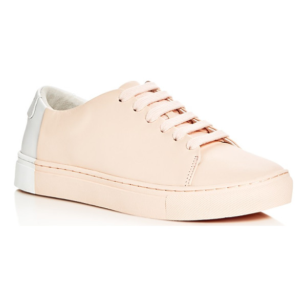 THEY NEW YORK Two Tone Lace Up Sneakers - They New York Two Tone Lace Up Sneakers-Shoes