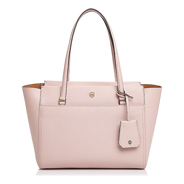 TORY BURCH Parker Small Leather Tote - Tory Burch Parker Small Leather Tote-Handbags