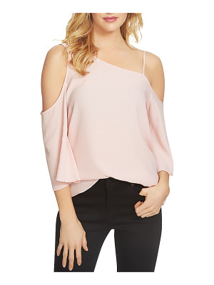 1.State Asymmetric Cold Shoulder Blouse