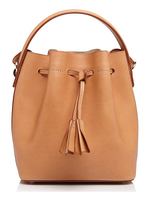 CELINE LEFEBURE Karin Mini Leather Bucket Bag
