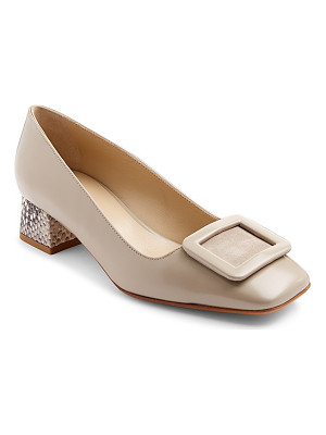 HOBBS LONDON Jess Block Heel Court Pumps