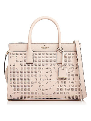 KATE SPADE NEW YORK Kate Spade New York Cameron Street Candace Perforated Leather Satchel