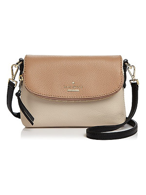 KATE SPADE NEW YORK Kate Spade New York Harlyn Color Block Small Leather Crossbody