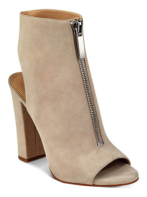 KENDALL AND KYLIE Kendall And Kylie Elaine Zip Front Block Heel Sandals