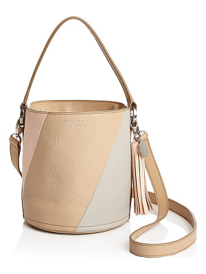 MELI MELO Meli Melo Santina Color Block Mini Leather Bucket Bag