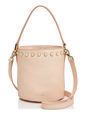 MELI MELO Meli Melo Santina Faux-Pearl Leather Bucket Bag - 100% Exclusive