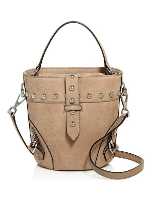 REBECCA MINKOFF Rose North/South Mini Nubuck Bucket Bag