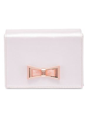 TED BAKER Maxine Geo Bow Evening Clutch