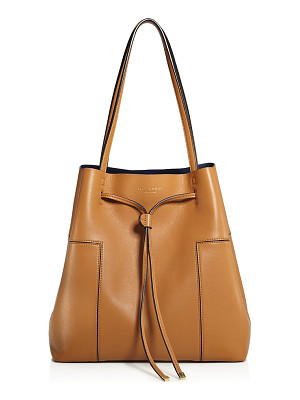 TORY BURCH Block-T Bucket Bag