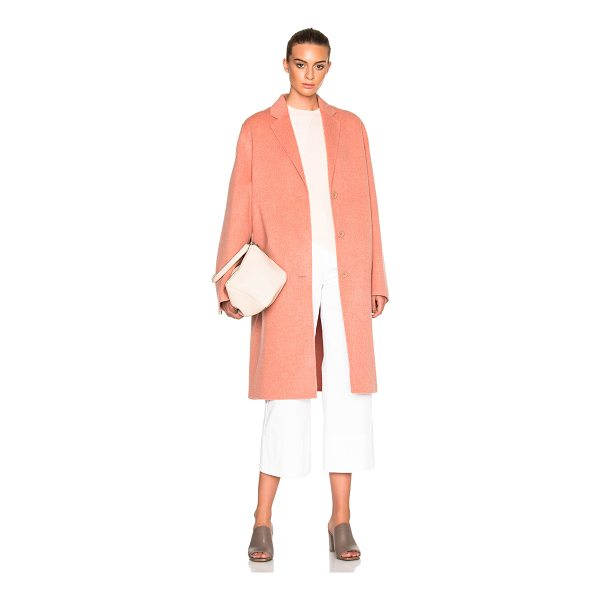 ACNE STUDIOS Avalon Double Coat - 85% wool 15% cashmere.  Made in Korea.  Dry clean only. ...