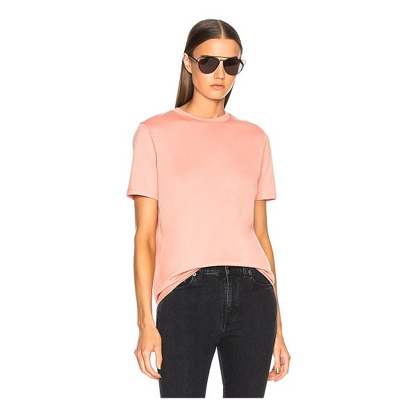 ACNE STUDIOS Taline Tee - 100% cotton.  Made in Portugal.  Machine wash.