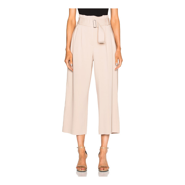 A.L.C. Dillon Gaucho Pants - 97% viscose 3% elastan.  Made in China.  Dry clean only. ...