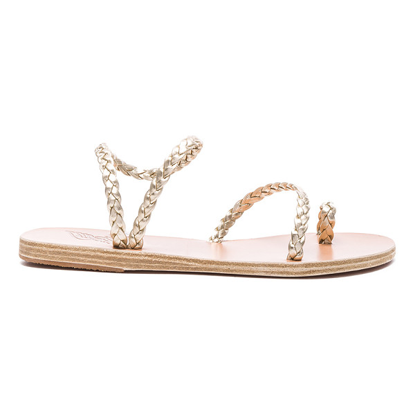 ANCIENT GREEK SANDALS Leather Eleftheria Sandals - Born with strong roots in Ancient Greek myth and tradition,...