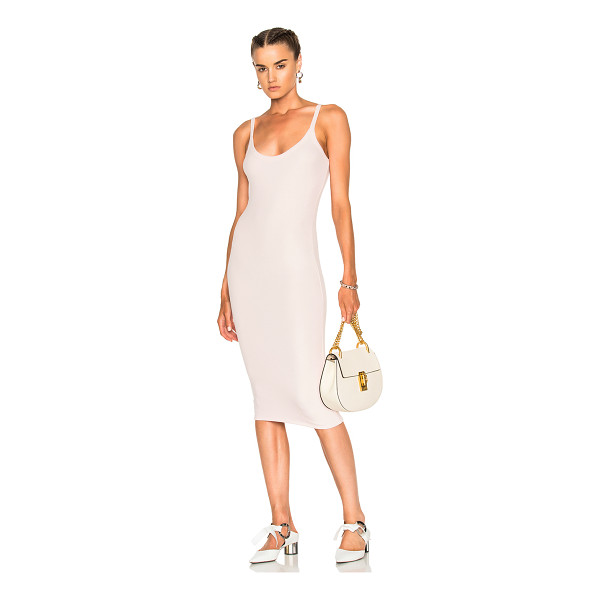 ATM ANTHONY THOMAS MELILLO V Dress - 96% micromodal 4% spandex. Made in Peru. Hand wash....