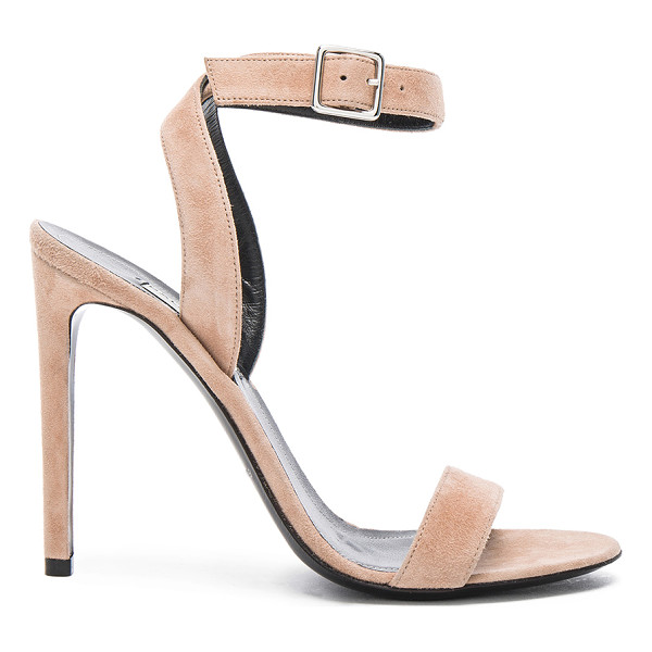BALENCIAGA Suede heels - Suede upper with leather sole.  Made in Italy.  Approx...