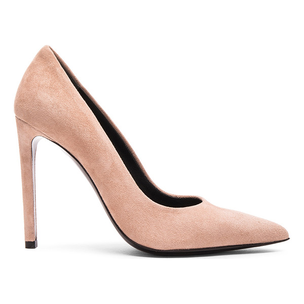 BALENCIAGA Suede pumps - Suede upper with leather sole.  Made in Italy.  Approx...