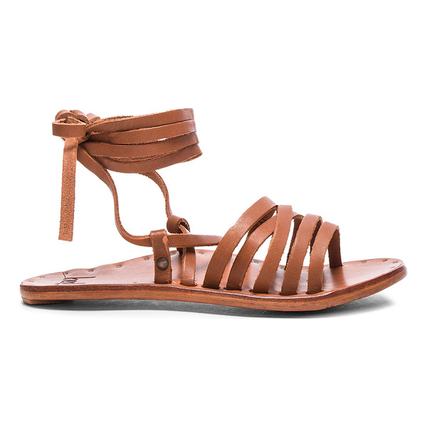 BEEK Leather Heron Sandals - Vegetable tanned leather upper and sole.  Made in Mexico. ...