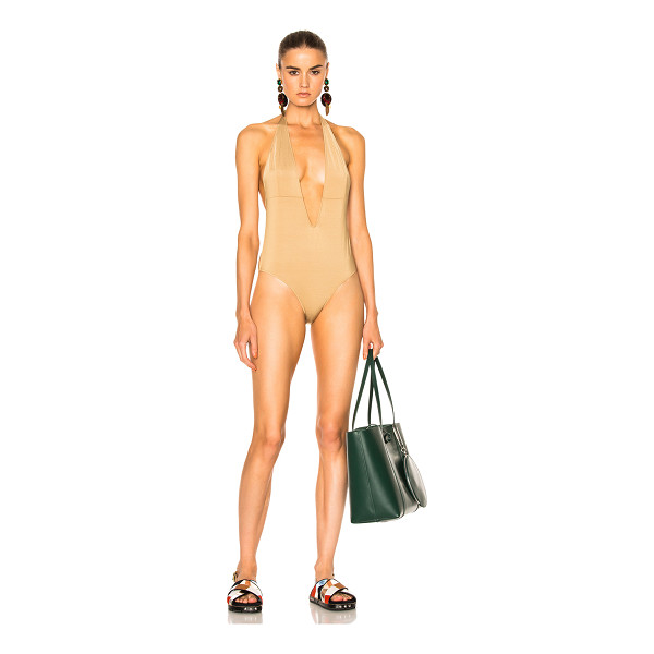 BOWER I Got You Swimsuit - Self: 87% polyamide 13% elastanLining: 90% polyamide 10%