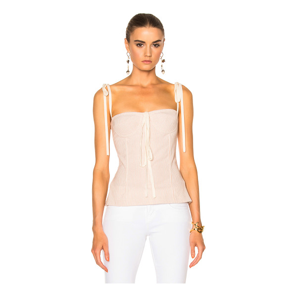 BROCK COLLECTION Tabitha Top - 81% wool 12% cotton 7% nylon.  Made in USA.  Dry clean...