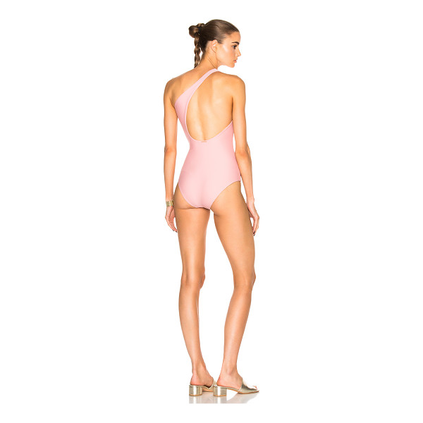 CALI DREAMING Milky Way Swimsuit - 82% polyamide 18% elastan. Made in USA. Hand wash.