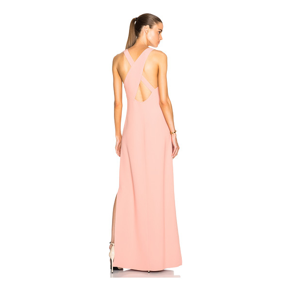 CALVIN KLEIN COLLECTION Dona gown - 55% viscose 45% acetate.  Made in Italy.  Partially lined. ...
