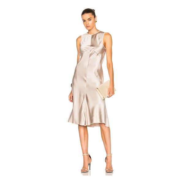 CALVIN KLEIN COLLECTION Lamica Silk Satin Gown - 100% silk.  Made in Italy.  Dry clean only.  Unlined. ...