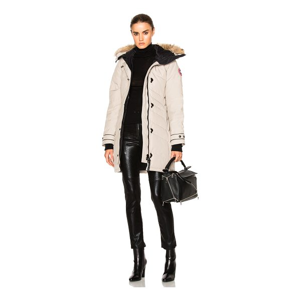 CANADA GOOSE Lorette Parka with Coyote Fur - Self: 85% poly 15% cottonLining: 100% nylonPadding: 100%...