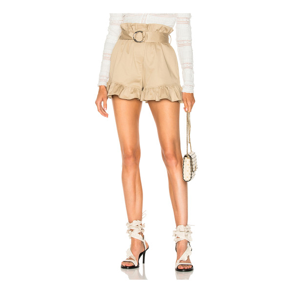 CINQ A SEPT Braxton Short - Self: 95% cotton 5% polyurethane Lining: 100% poly. Made in...