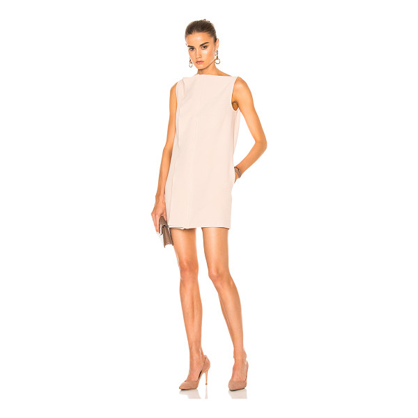 DION LEE Axis Sleeveless Crepe Dress - Self: 94% poly 4% spandexLining: 100% polyContrast Fabric:...