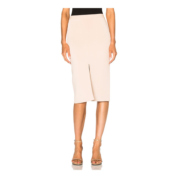 DION LEE Reversible Split Density Skirt - 77% viscose 23% nylon. Made in China. Dry clean only....
