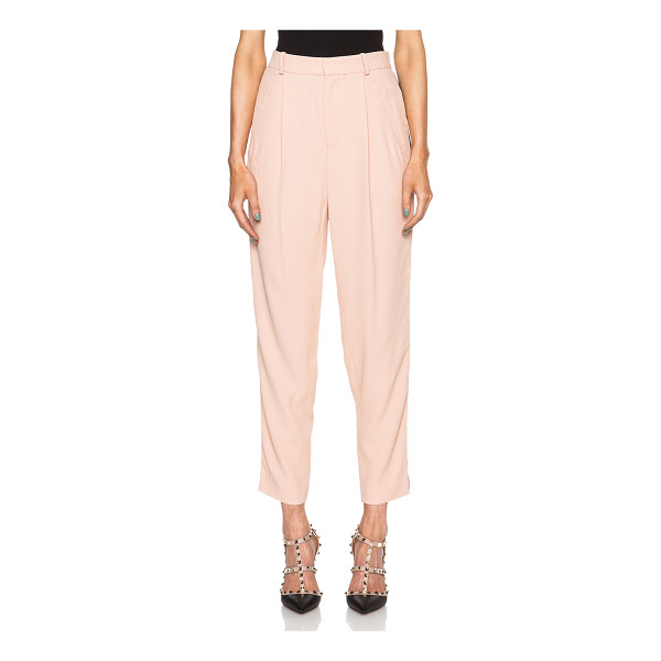 EACH X OTHER Tuxedo trousers - Self: 53% acetate 47% viscose - Lining: 100% cotton.  Made...
