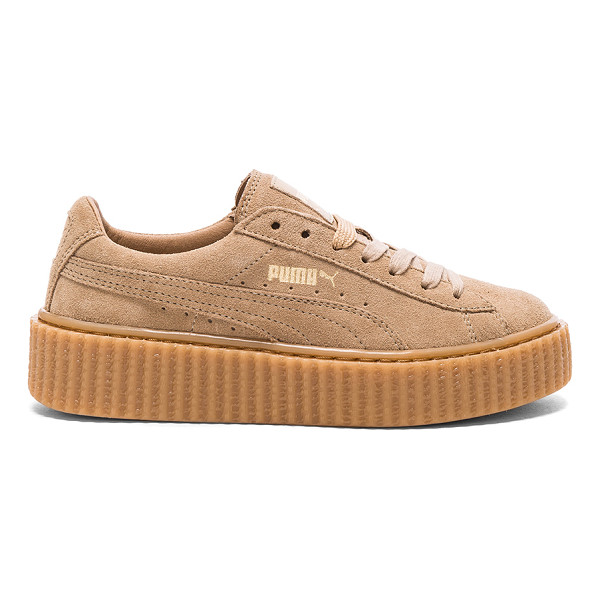 FENTY PUMA BY RIHANNA Suede creepers - Suede upper with rubber sole.  Made in Romania.  Approx...