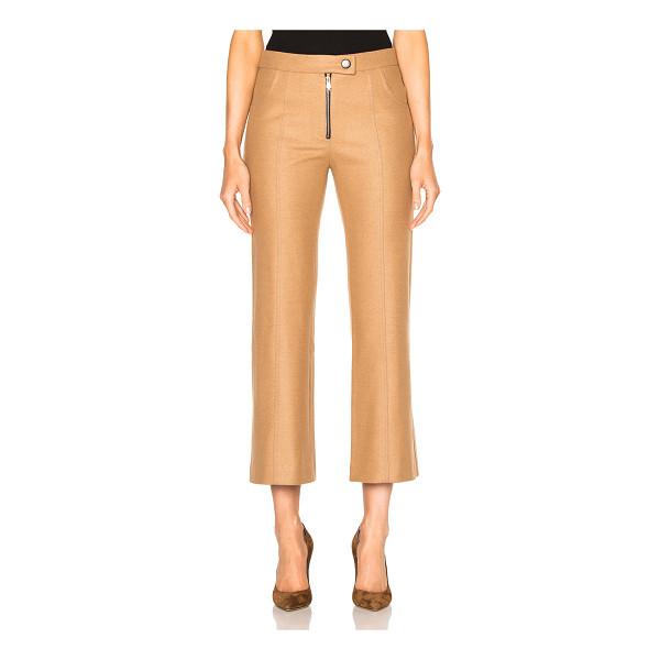 FRANKIE Cropped Wool Flare Pants - Frankie is a ready-to-wear and denim collection made in the