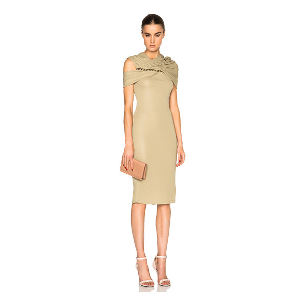 GIVENCHY Jersey Off Shoulder Dress - Self: 100% viscoseLining: 80% polyamide 20% elastan. Made...